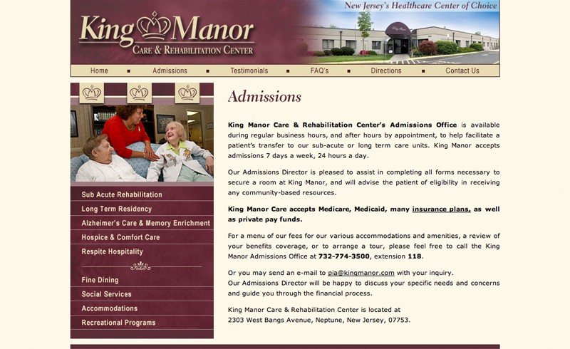 King Manor Care & Rehabilitation Center