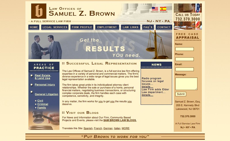 Law Offices of Samuel Z. Brown