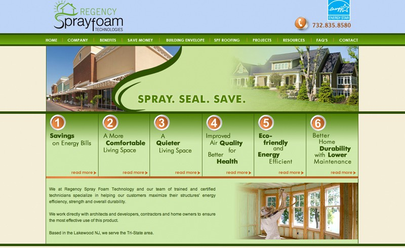 Regency Spray Foam Technology